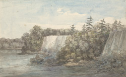 View of the Great Fall at Niagara, July 1765